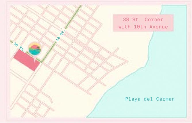 Serenada Ubicacion Playa del Carmen