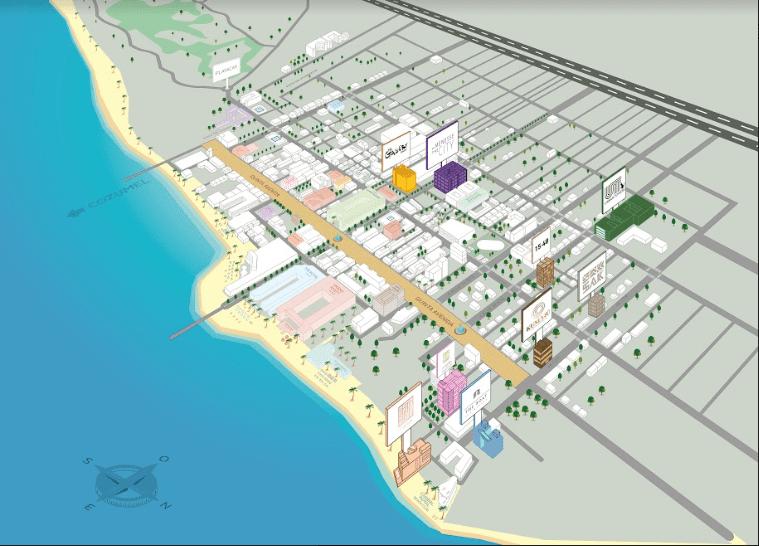 Urban Towers Ubicacion Playa del Carmen