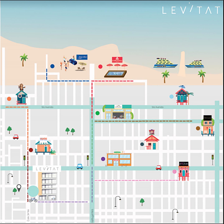 Levitat Ubicacion Playa del Carmen